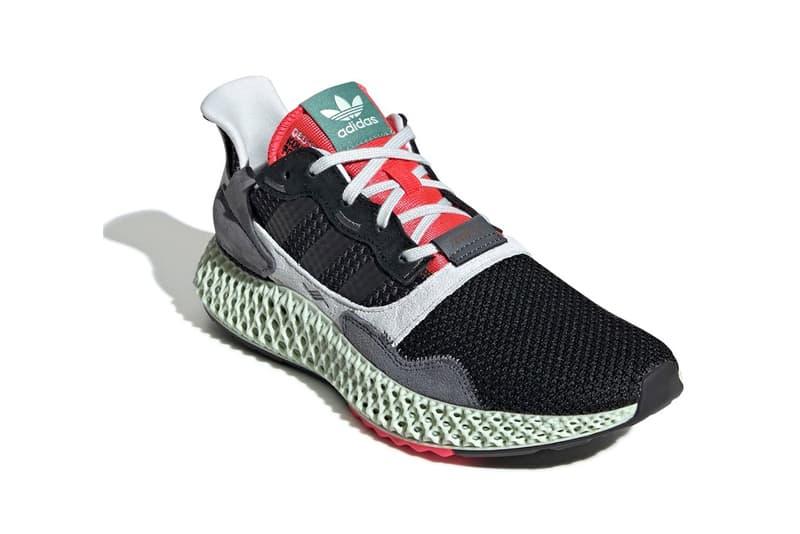 cheaper 0e94b e57c2 adidas ZX 4000 4D Black Onix colorway Sneaker Release Date