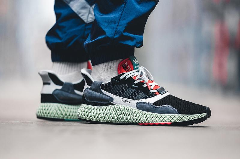 f4fce4db4442 Hitting retailers this month. adidas ZX 4000 4D Black Onix colorway Sneaker  Release Date