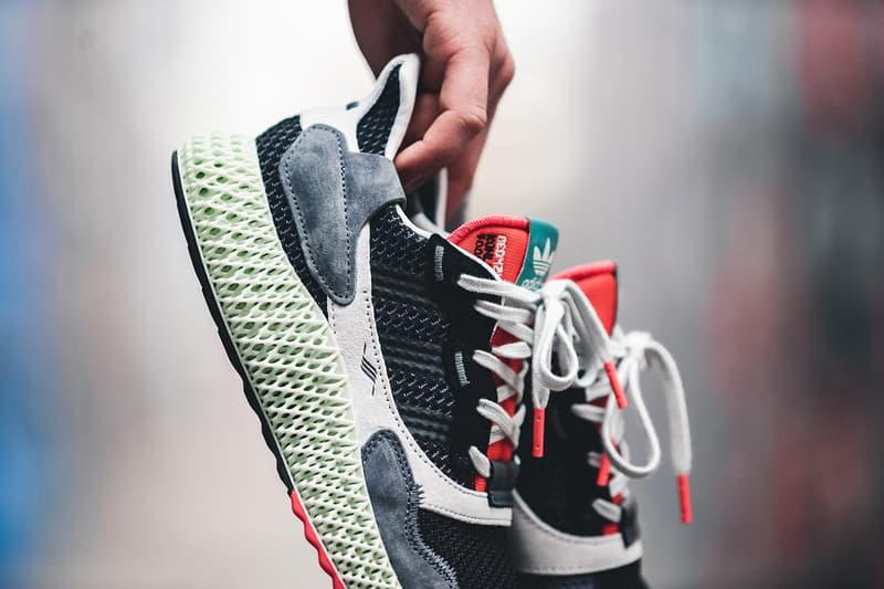 adidas ZX 4000 4D Black Onix colorway Sneaker Release Date