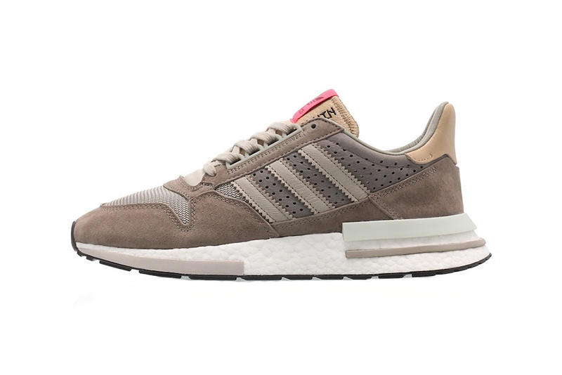 1675ebb5c1a21 adidas zx 500 rm sand brown light brown white 2019 march footwear