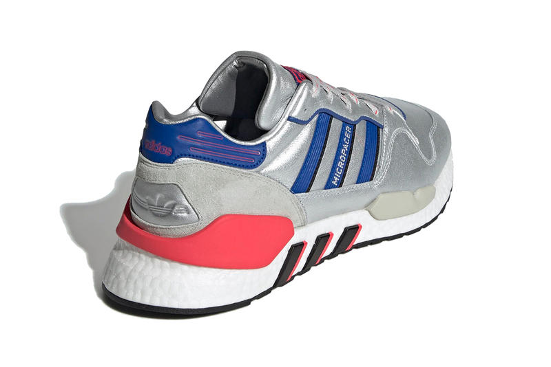 adidas originals zx 930 eqt micropacer 2019 february footwear silver metallic blue navy red boost sole micro pacer