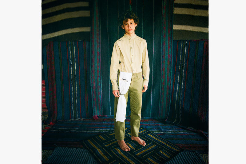 Adish sea of sand fw19 lookbook israel middle east history lookbooks style fashion