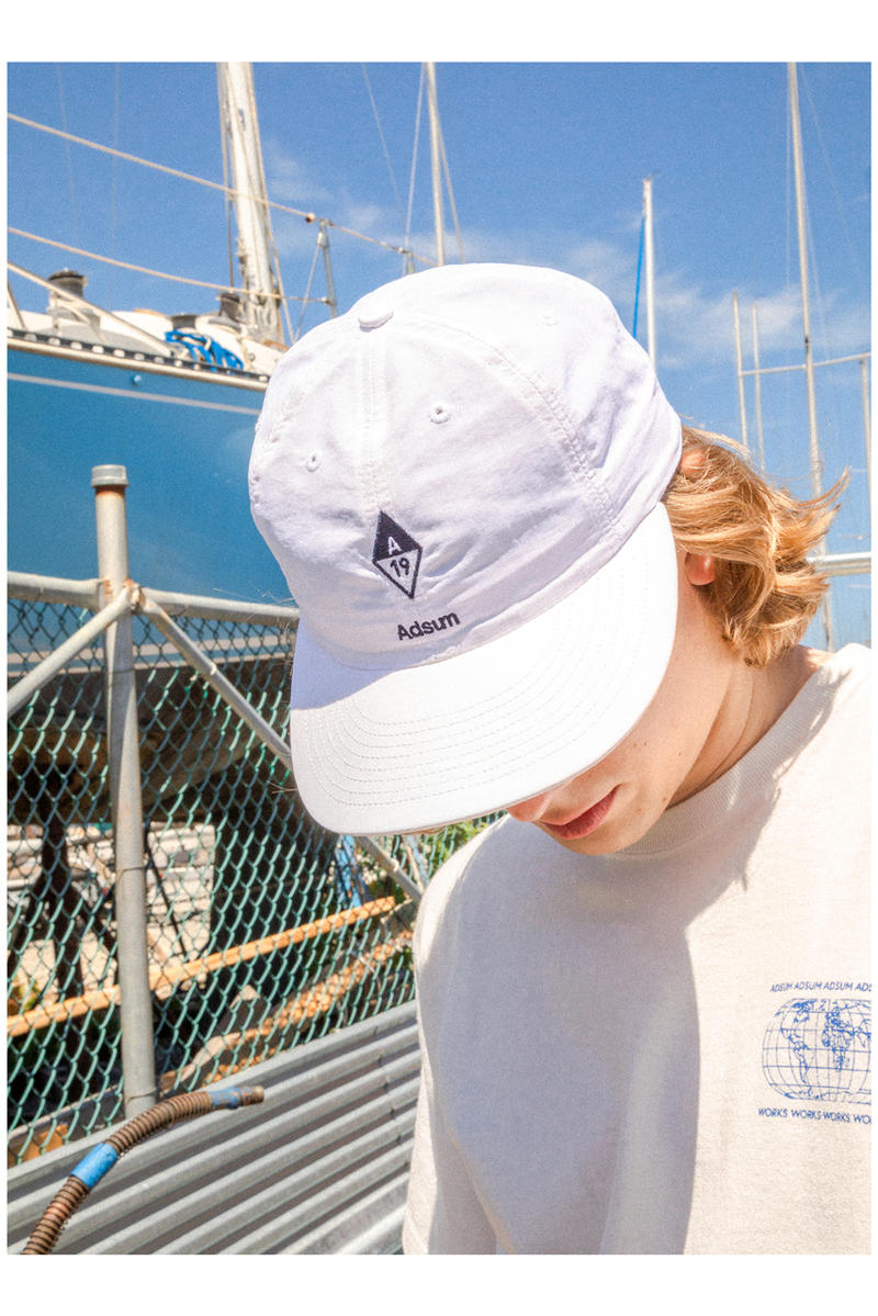 Adsum spring summer 2019 lookbook collection images yacht racing performance pieces