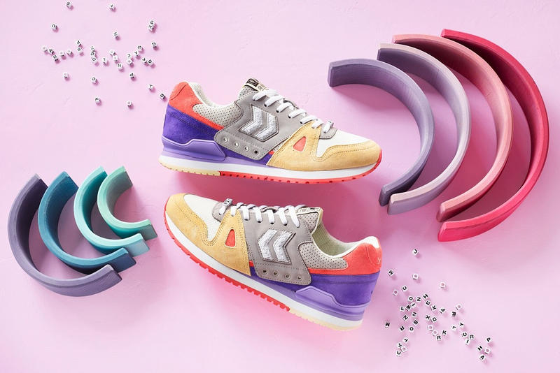 afew hummel marathona stay foolish info release date details pics pictures images shots sneakers shoes 2019 white purple orange grey gray yellow buy price cost