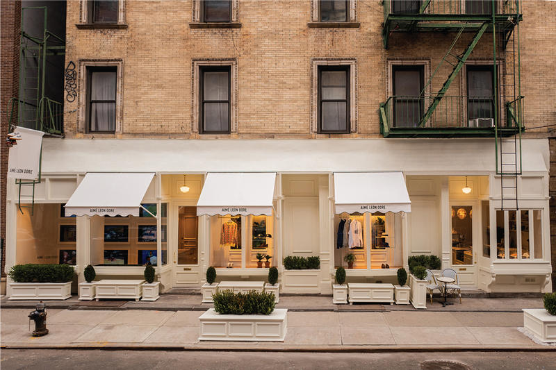 Aimé Leon Dore Café NYC flagship SS19 Collection Spring Summer 2019  store retail shop