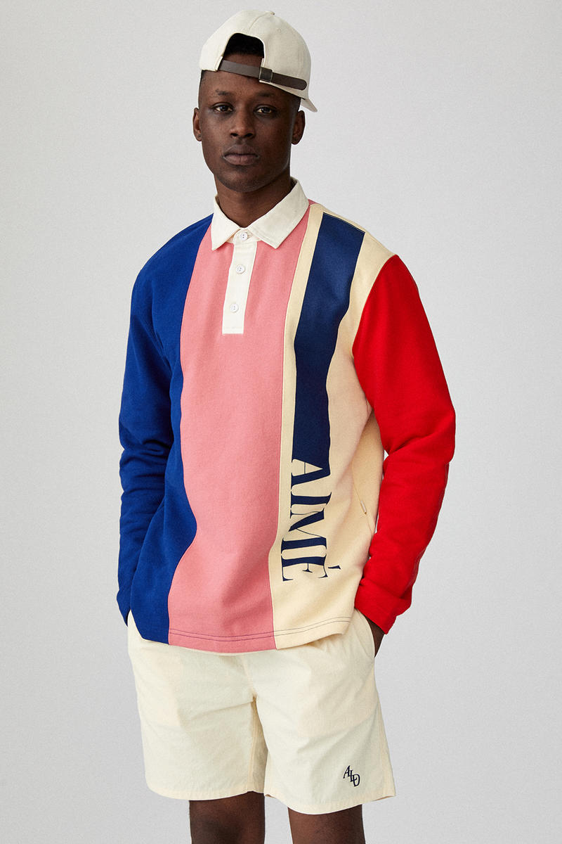 Aime leon Dore spring summer 2019 collection lookbook ss19 drop release info new york Teddy Sanctis
