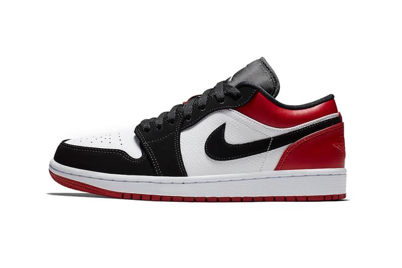46b3cea9d7e793 air jordan 1 low black toe white gym red 2019 brand footwear sneakers  wings. 1 of 4. Sneaker Bar Detroit