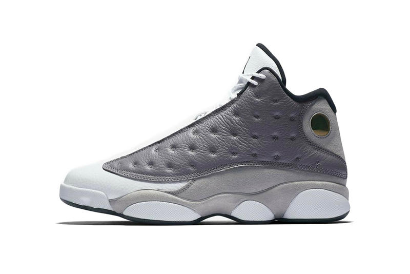 air jordan 13 atmosphere grey 2019 march footwear jordan brand white gray black hologram