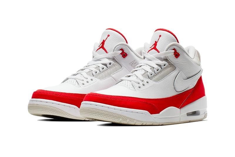 840840a2e004 Air Jordan 3 Tinker White University Red Neutral Grey Hatfield Release Nike  Air Max 1 SNKRS