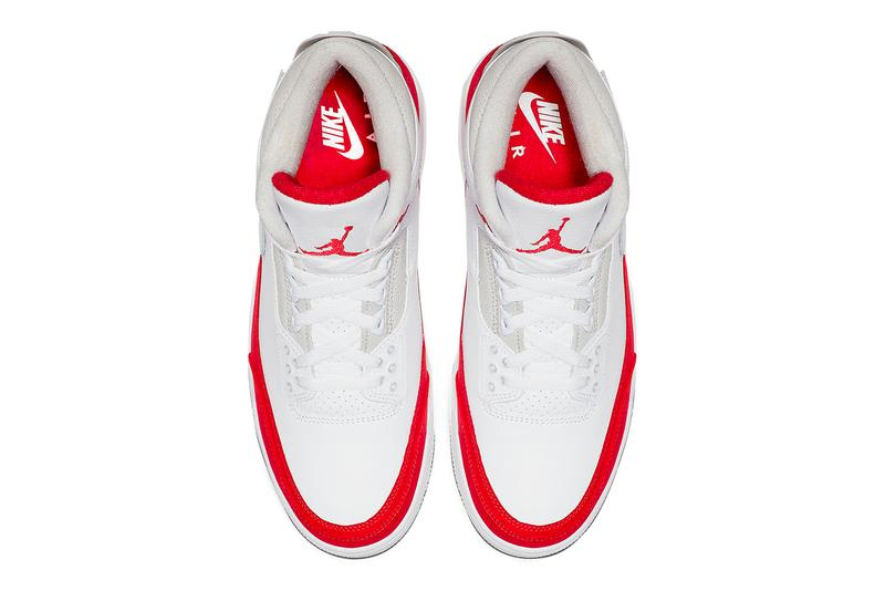 b3c3c2a2d7a3d6 Air Jordan 3 Tinker White University Red Neutral Grey Hatfield Release Nike  Air Max 1 SNKRS