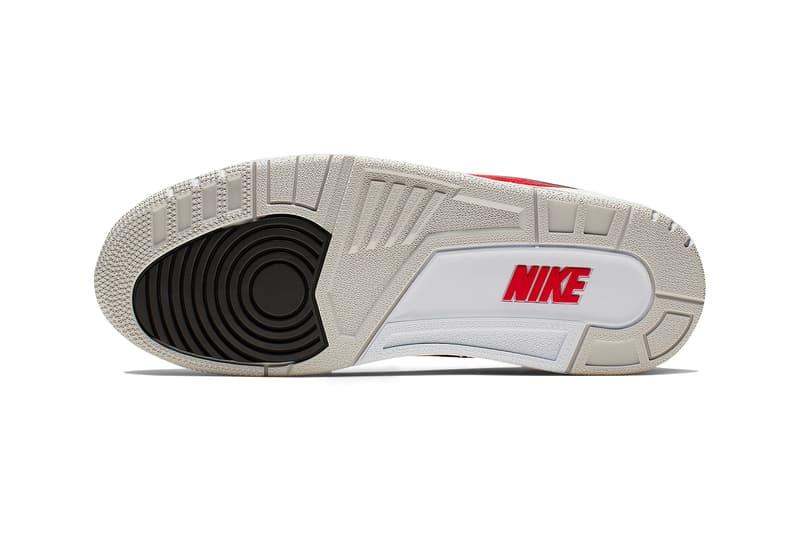 Air Jordan 3 Tinker White University Red Neutral Grey Hatfield Release Nike Air Max 1 SNKRS