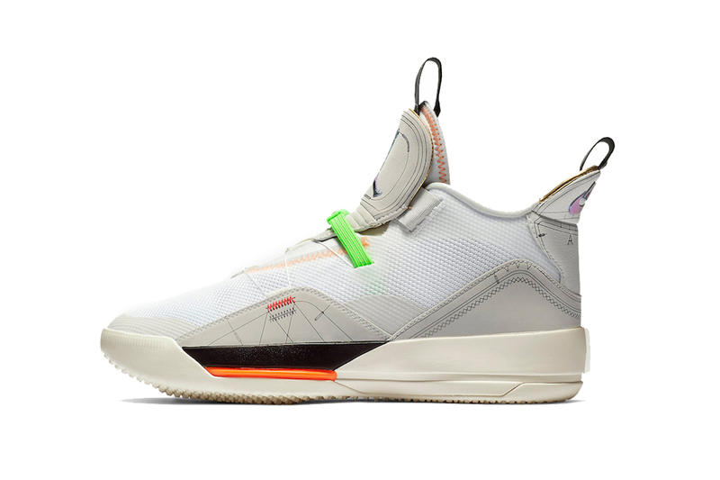 air jordan 33 vast grey cone sail white 2019 march footwear jordan brand