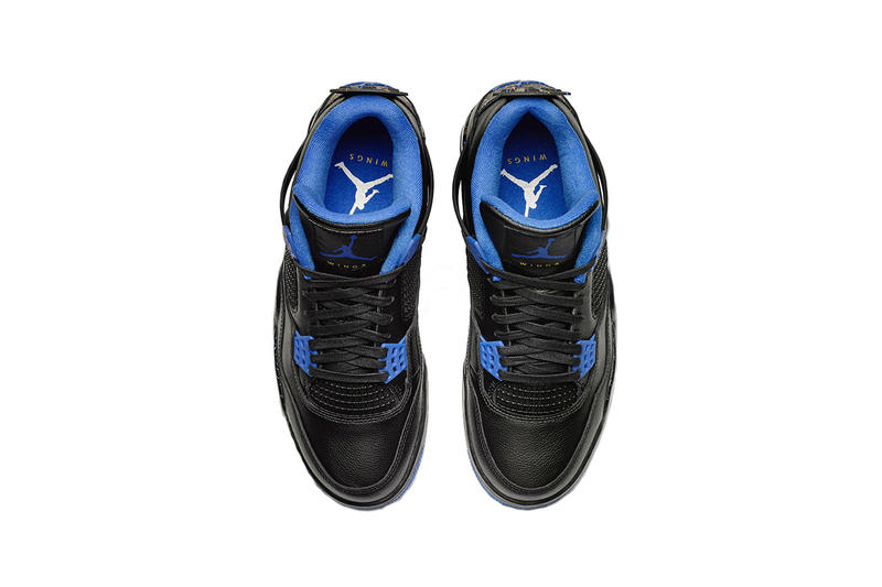 air jordan 4 jordan wings program 2019 february footwear black blue social status james whitner the social status