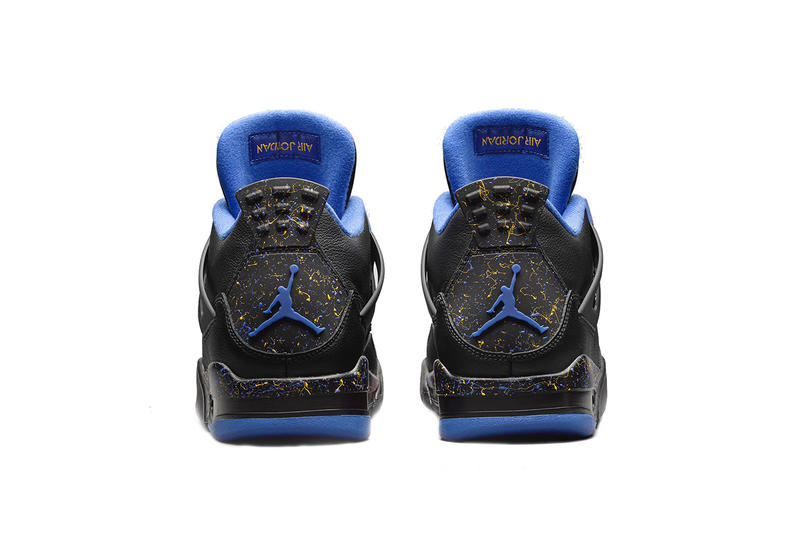 air jordan 4 jordan wings program 2019 february footwear black blue social status james whitner the social status