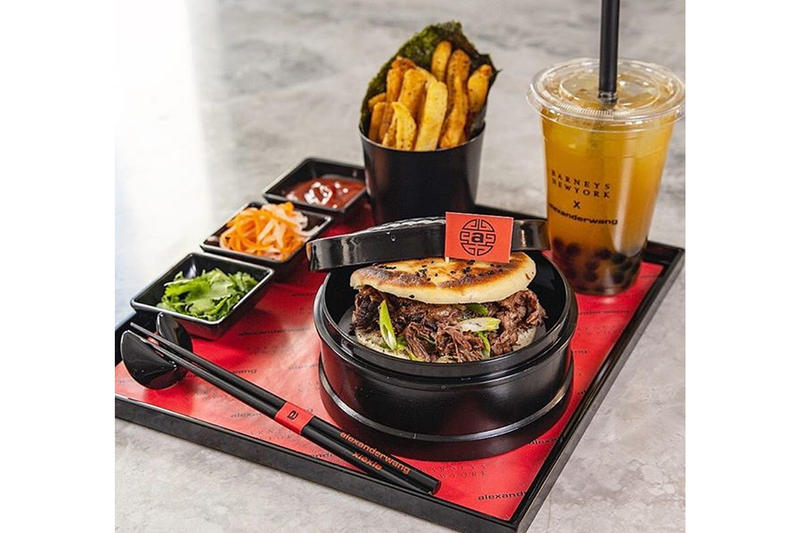 Alexander Wang Barneys Freds Lunar New Year Burger 2019 Designer Series