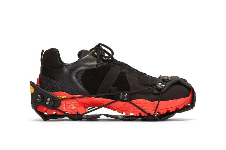 Bernhard Willhelm X Camper Hiking Boot Hypebeast
