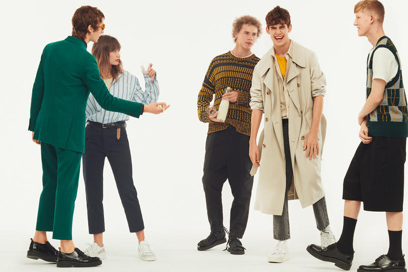 Ami Spring Summer 19 Collection and Lookbook info fashion lookbooks pastoral countryside