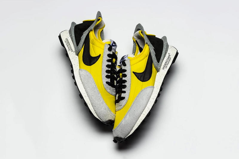 b72ca153f591 Another Look at the UNDERCOVER X Nike Daybreak Jun Takashi sneaker trainer  runner yellow gray black