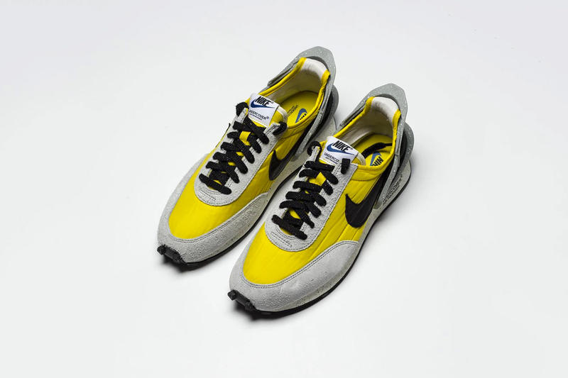 Another Look at the UNDERCOVER X Nike Daybreak Jun Takashi sneaker trainer runner yellow gray black