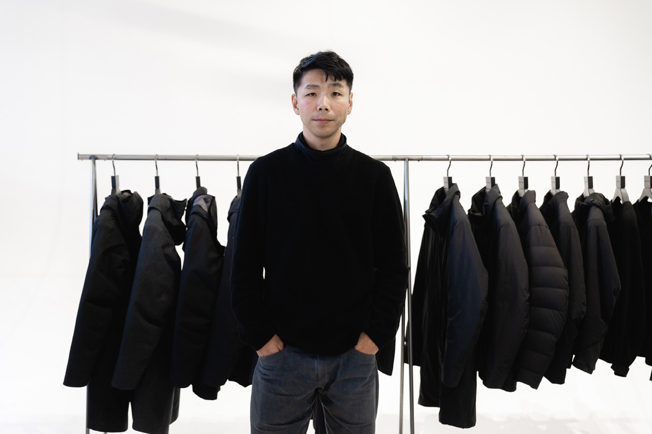 arcteryx veilance taka kasuga interview creative director feature editorial fall winter 2019 collection monitor down coat conduit anneal jacket outerwear voronoi technical techwear canada