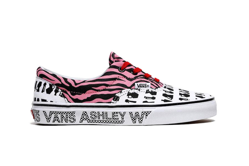 eb1e389b03529d Ashley Williams Vans Capsule Collection Collab era authentic style 93 slip  on release date info drop
