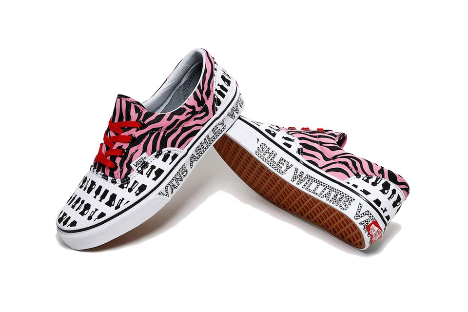 1209240e89b Ashley Williams x Vans Capsule Collection Collab