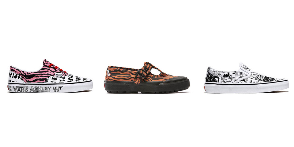432c4dcf2357d8 Ashley Williams x Vans Capsule Collection Collab