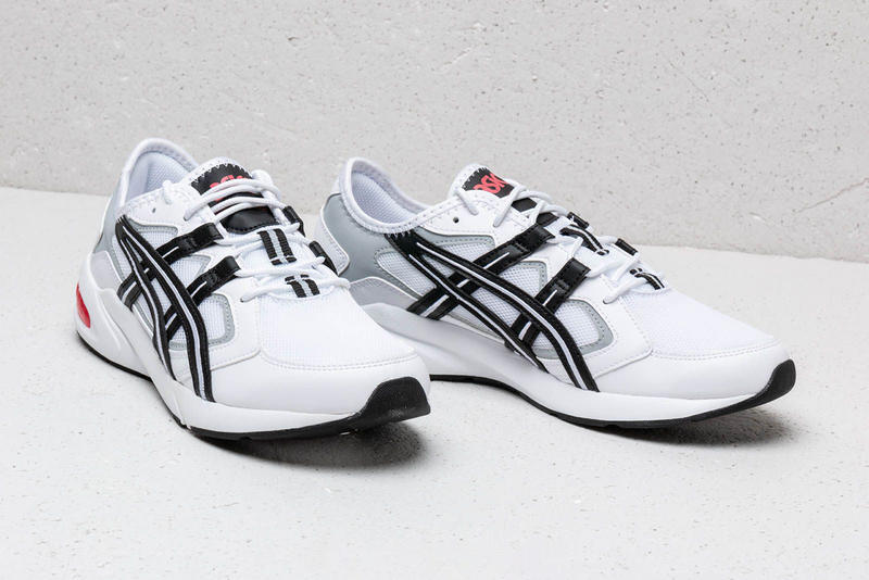 Asics Kayano GEL 5.1 White Black Red Release Information Drop First Look Details Closer Footshop