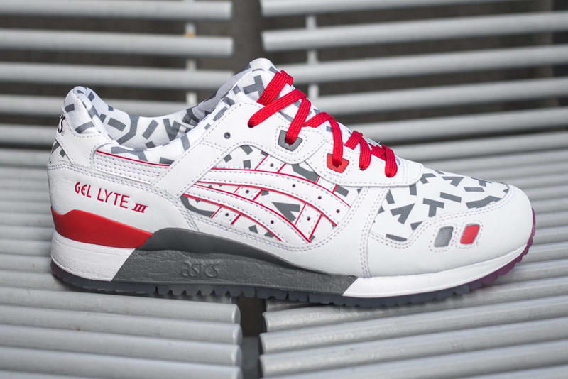 asics gel lyte iii 3 shoes sneakers storm shadow snake eyes gi joe new era cap hat headwear accessories apparel hex utility bag release date info pics pictures images where buy foot locker shop 2019 february price white grey gray black red