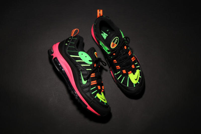 buy popular 099d7 dd3a0 Nike Tokyo Neon Collection Clothing Air Max 90 98 release date info buy  japan colorways jacket