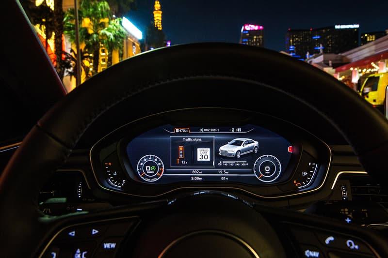 Audi Traffic Light Information Systems Explained TLI Red Light Speed Camera