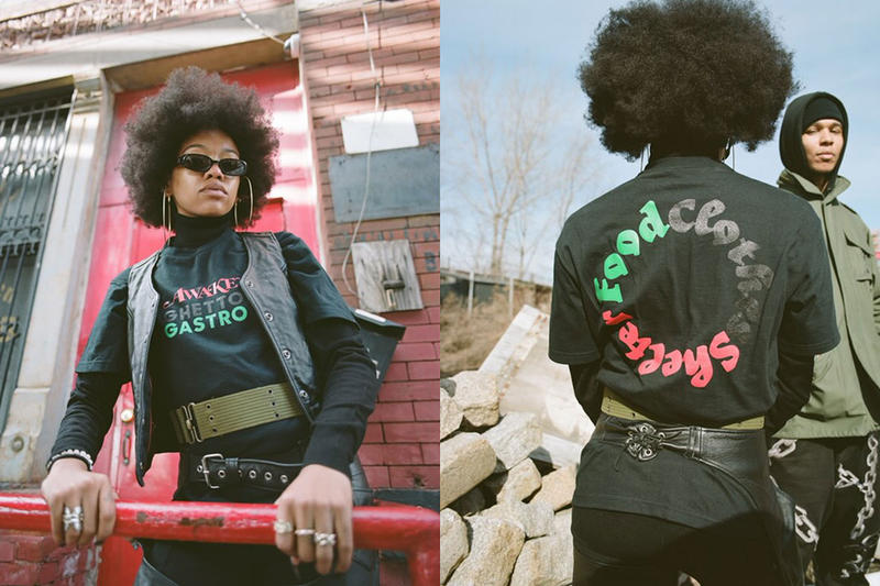 AWAKE ny ghetto gastro black history month charity collaboration capsule collection february 22 2019 21 drop release date info buy feed the community program new york bronx la morada restaurant event