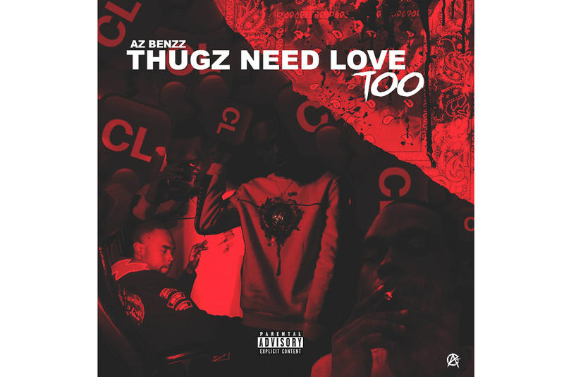 azbenzz thugzneedlovetoo new 2019 ep project stream soundcloud r&b hip hop rap compton la los angeles west coast azcult azchike azswaye big swift music song track single