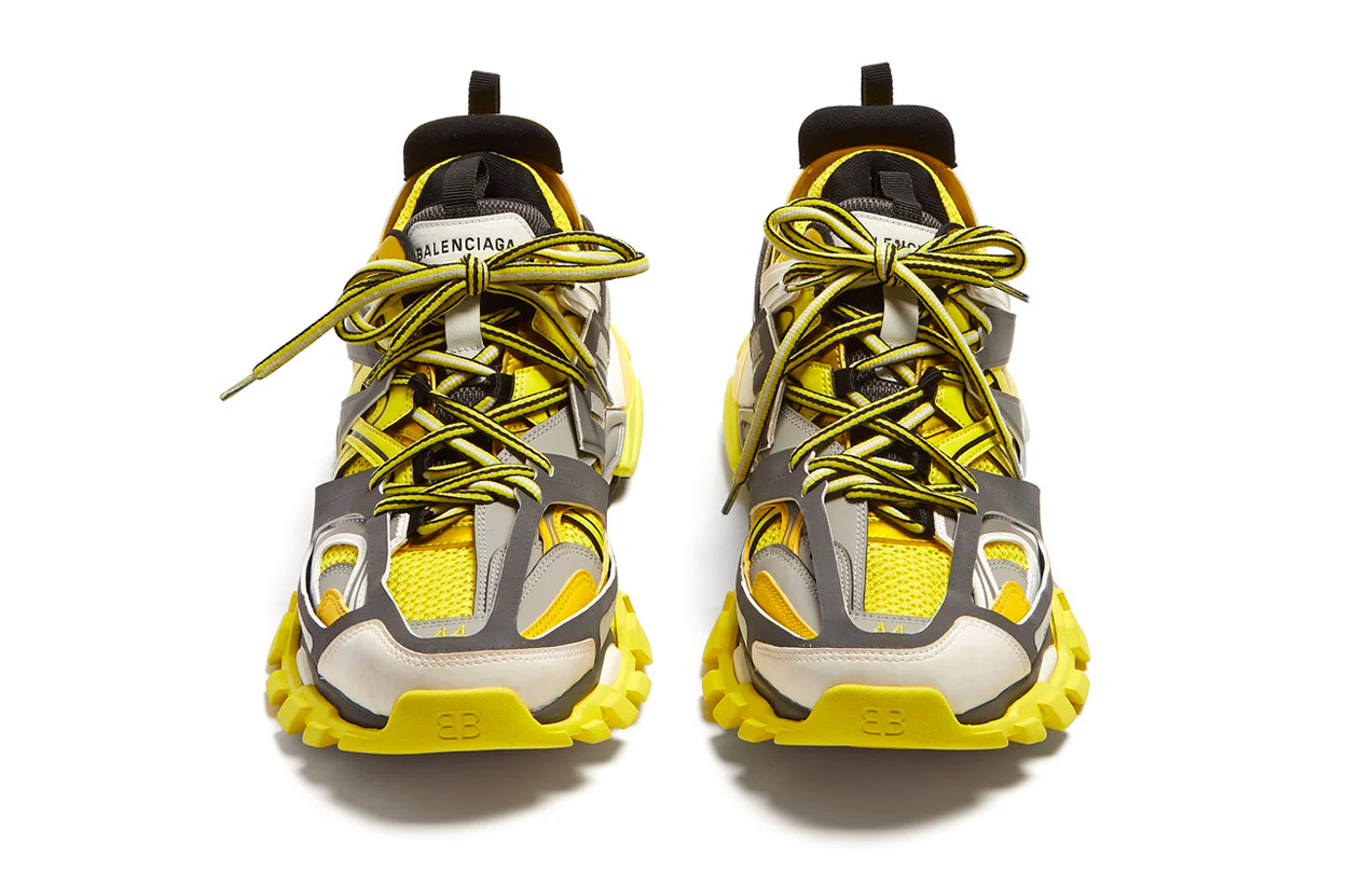 Balenciaga Track Sneakers Bold Yellow