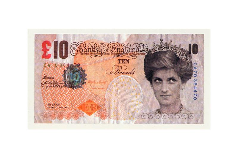 Banksy British Museum Fake 10 Pound Banknote Donation Images