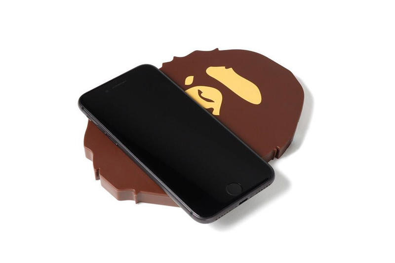 BAPE Ape Head Wireless Charger a bathing ape phones smartphones iphones apple nigo