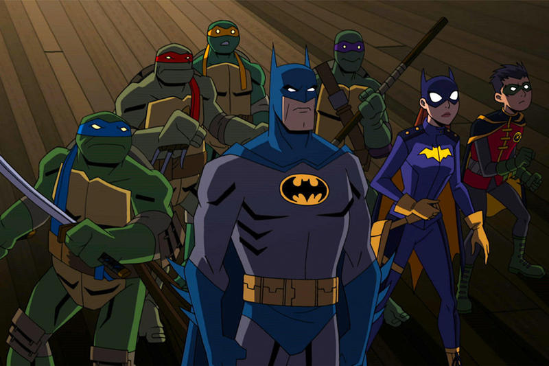Batman and TMNT Animated Movie Crossover films dc universe nickelodeon teenage mutant ninja turtles movie movies animation Teenage Mutant Ninja Turtles