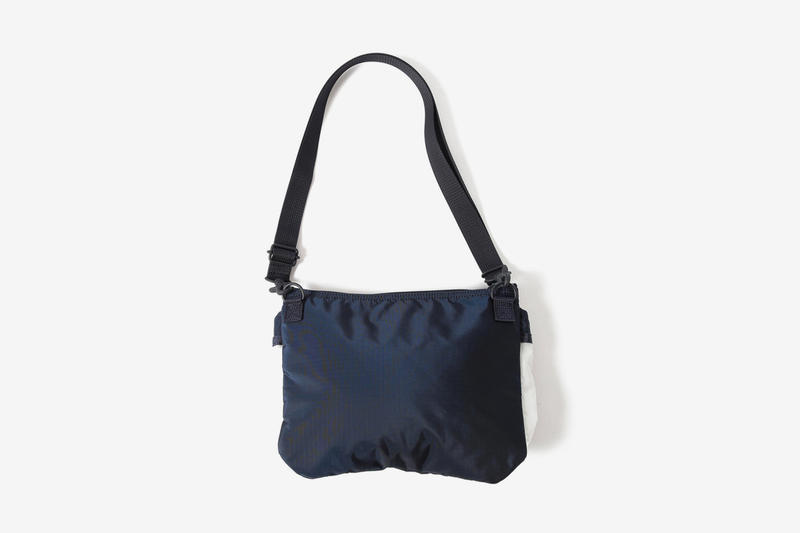 BEAMS Dons Porter Classics a Semi-Translucent Makeover helmet bag id holder daypack sacoche wallet black navy release drop date images price preorder info accessories bags