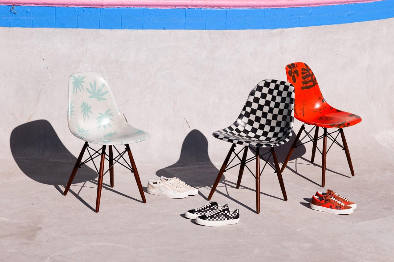 modernica vans vault sideshell chair miles johnston loss sculpture michael vasquez louie chin canal street market paintings jeff gluck othelo geravacio