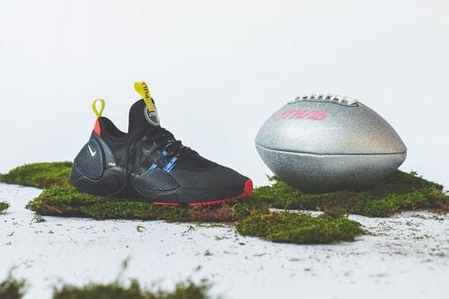 Heron Preston x Nike Hits the Gridiron in This Week's Footwear Drops