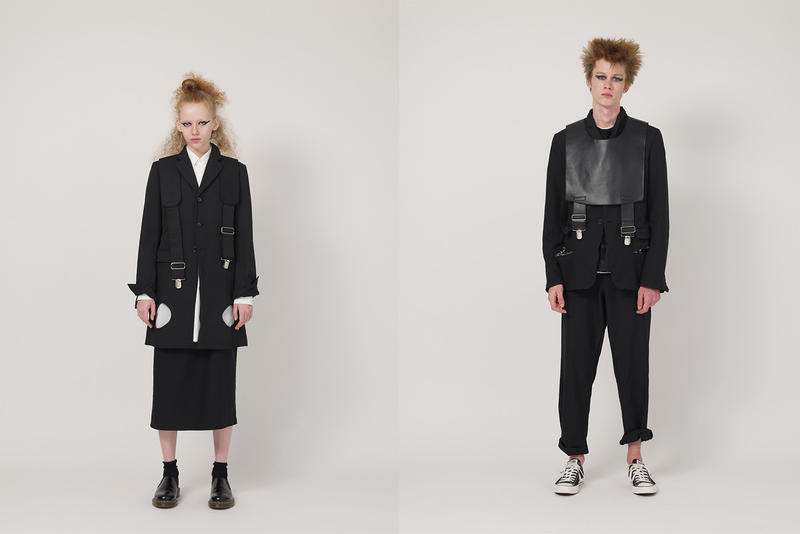 BLACK COMME des GARÇONS SS19 Collection spring/summer rei kawakubo tailored shirting coach jacket shirts shorts blazers trousers suit t-shirts skirt patchwork nike collab
