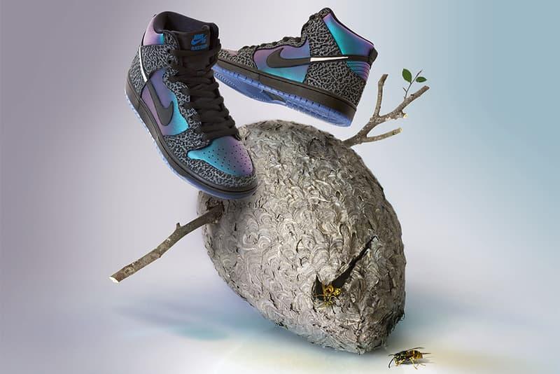 black sheep skate shop nike sb dunk high black hornet 2019 february footwear