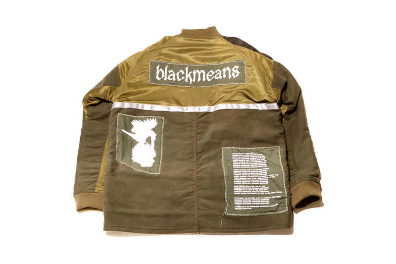 Blackmeans NUBIAN Harajuku Pop Up SID VICIOUS JACKET Leather accessories distressed wash damage vintage CRFTMAN STORE HISTORY OF LEATHER