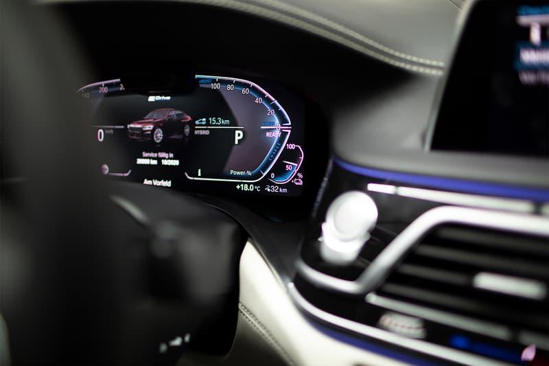 BMW 745e Plug in Hybrid Geneva Motor Show