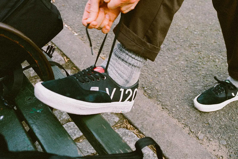 6b16ed20b9f3 Bodega Teams up With Vans For New VHS-Inspired Authentics black release  drop date images