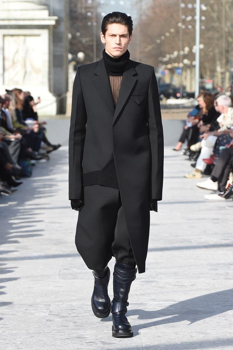Bottega Veneta fall 2019 daniel lee mens runway show looks