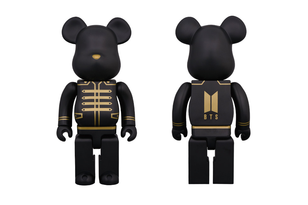 K-Pop Group BTS Teams up With Medicom Toy for New BE@RBRICK