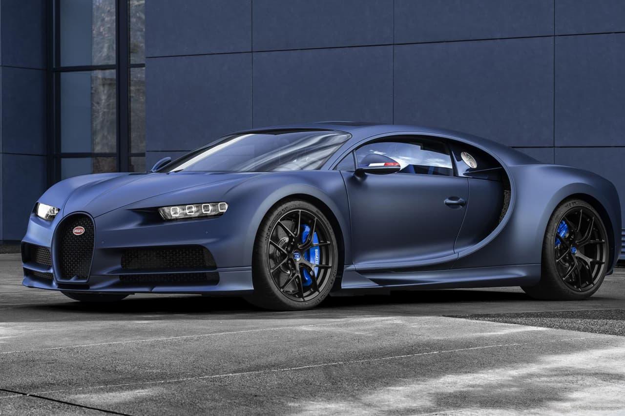 Bugatti Chiron Sport 110 Ans Bugatti Revealed Hypebeast
