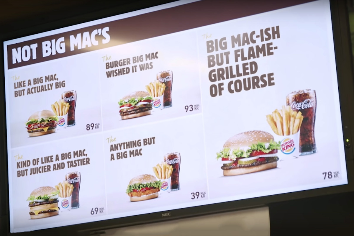 Burger King Trolls the Big Mac In Latest Video Ad