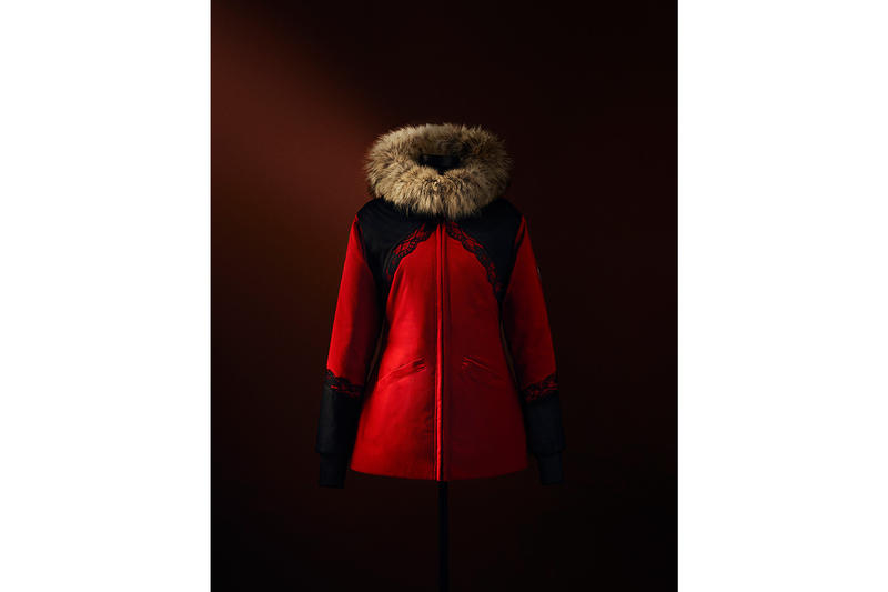 "Canada Goose & Inuit Seamstresses Parkas ""project atigi"" community Inuit Tapiriit Kanatami (ITK) ""one-of-a-kind"" 1 of 1 14 units total release info non-profit"